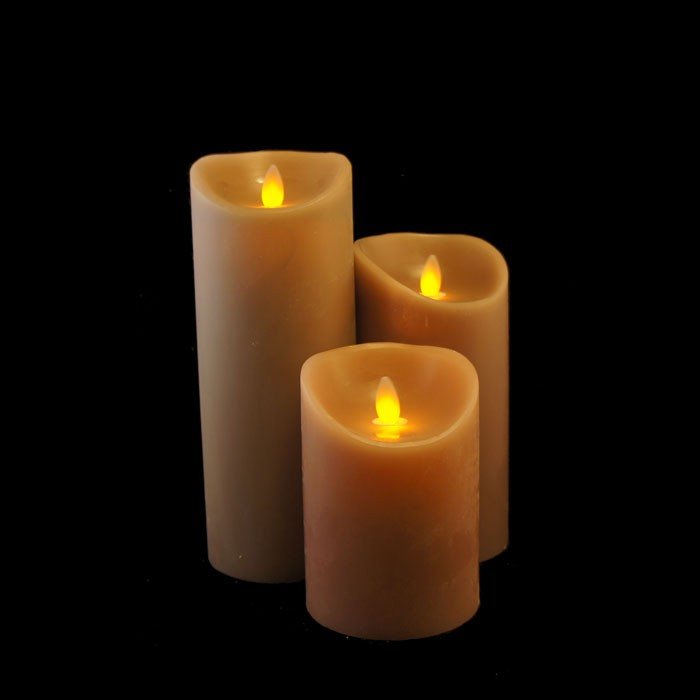 bougies led flamme mobile. Black Bedroom Furniture Sets. Home Design Ideas