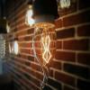 Ampoule vintage décoration New York, 40W, E14