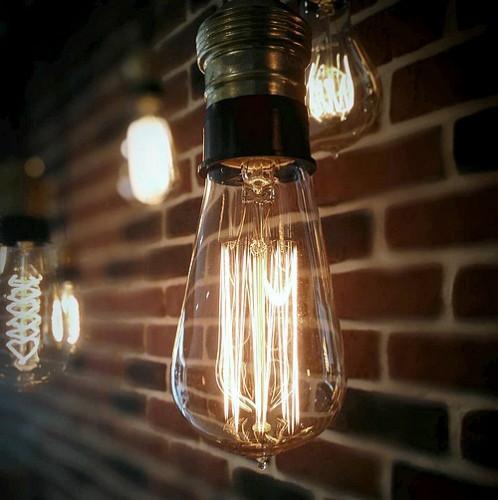 Ampoule vintage décoration Cleveland 58mm, 60W, E27
