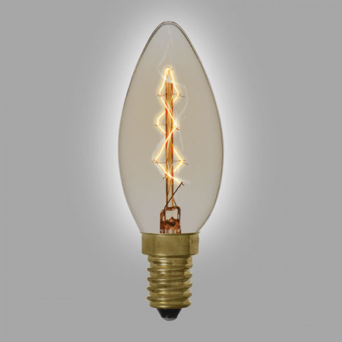 Ampoule vintage décoration Boston, 40W, E14