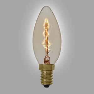 Ampoule vintage décoration Boston, 40W, E14