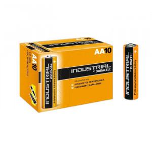 Pack de 10 piles AA LR6 1,5 Volts Duracell Industrial