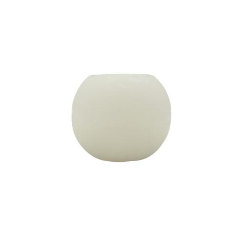 Bougie led sphère ouverte - 10cm