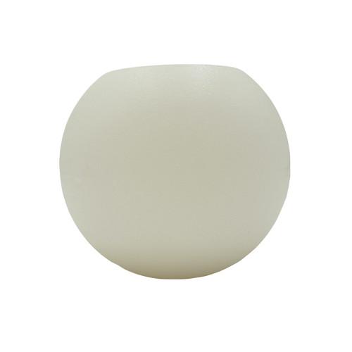 Bougie led sphère ouverte - 17,5cm