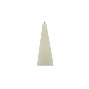Bougie led à mèche «pyramide»