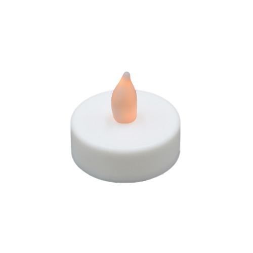 Lot de 12 bougies chauffe-plat à Led