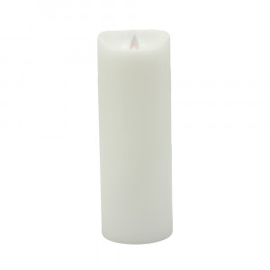 Bougie Led blanche SOMPEX - 8cmx23cm