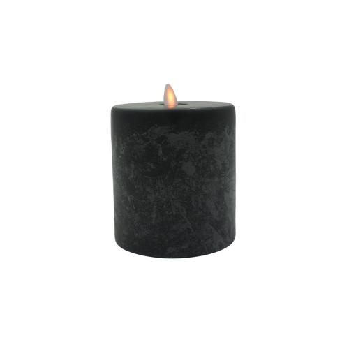 Bougie Led anthracite SOMPEX - 10cmx10,5cm