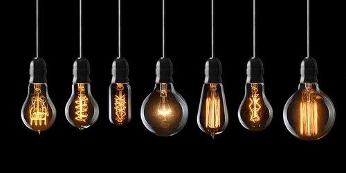 Ampoules Vintages