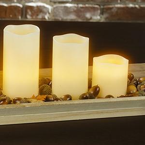 Bougies LED classiques