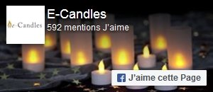 Aimer e-Candles sur Facebook