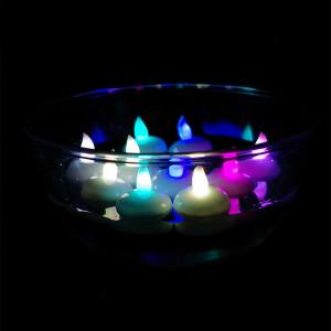 bougies led en cire e candles. Black Bedroom Furniture Sets. Home Design Ideas