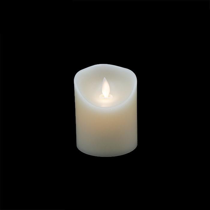 pack 4 bougies led vacillante cire ivoire. Black Bedroom Furniture Sets. Home Design Ideas