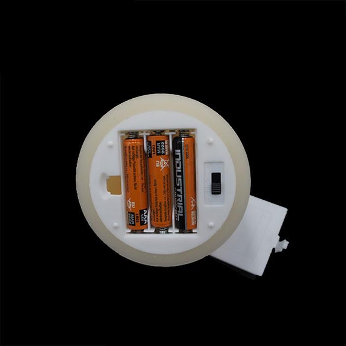 pack 3 bougies led vacillante en cire ivoire. Black Bedroom Furniture Sets. Home Design Ideas